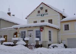 Hotel Klor v zimě